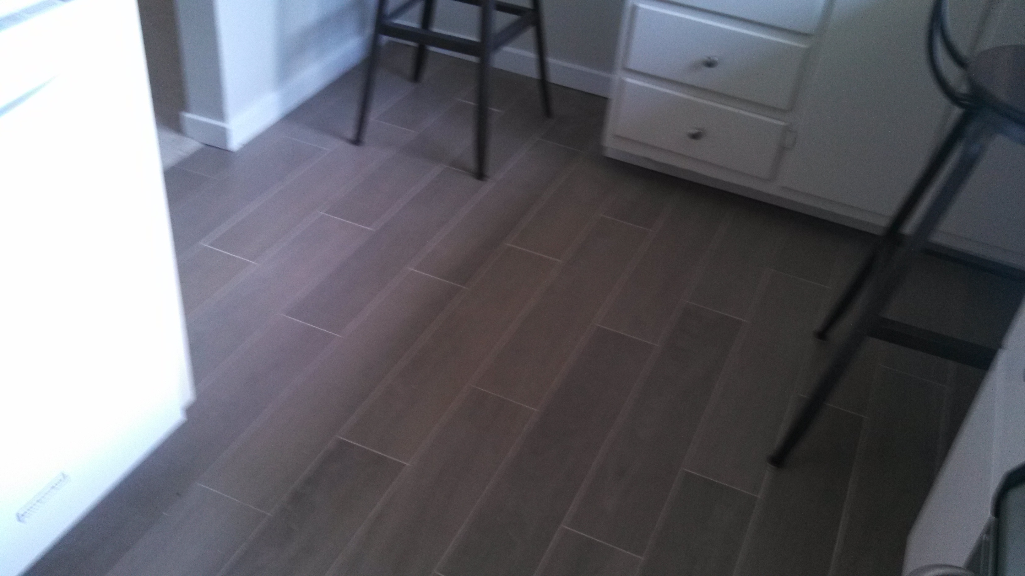 Kitchen floor, Mill Valley