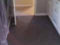 bathroom remodel, floors and cabinets, after
